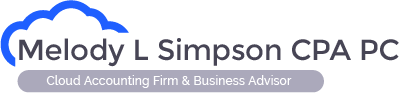 Melody L Simpson CPA PC Logo